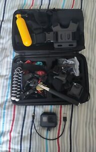GoPro Hero 7 Black Action Camera with Huge Accessories Bundle Attachments