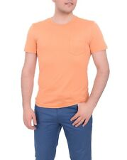 Ralph Lauren Black Label Slim Orange Pima Cotton Crewneck T Shirt Medium M