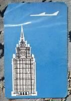 Aviaexport Pocket Calendar USSR 1964 Very Rare