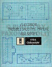 1984 olds electrical troubleshooting manual oldsmobile wiring diagram book  oem