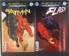 BATMAN 21 FLASH 21 THE BUTTON INTERNATIONAL VARIANT COVERS