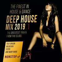 DEEP HOUSE MIX 2019 - DJ PERRY/MOGWALI/TOLY BRAUN/+  CD NEU