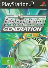 PLAYSTATION 2 FOOTBALL GENERATION PS2 GAME