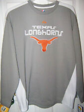 Texas Longhorn Long Sleeve Gray Whi Shirt Mens Size  XXL 2XL NWT #51