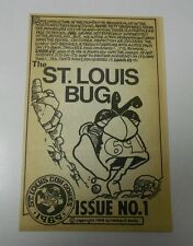 1968 The ST. LOUIS BUG #1 4 pg. FN+ Freebie EARLY VAUGHN BODE Underground RARE