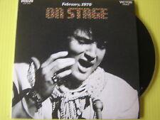 CD ELVIS PRESLEY ON STAGE PROUD MAR FEBRUARY 1970 VERSIONE MINI VINYL ORIGINALE