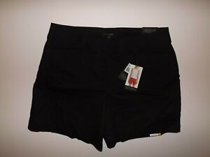 THE LIMITED Womens Shorts Black Tailored Flat Front Size 8 NWT