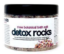 DETOX ROCKS HIMALAYAN PINK SALT SEAWEED & ROSE * RESTORATIVE BATH SALT SOAK MIX