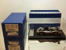 BBR MODELS BG177 AUDI R8R LMP 24h LE MANS 1999 - SILVER 1:43 - EXCELLENT IN BOX