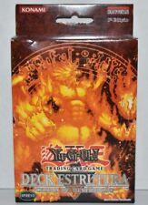 Blaze of Destruction Structure Deck 1st Edition SD4 PORTUGUESE Yugioh  Brand New