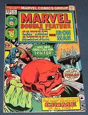 Marvel Double Feature #14  Feb 1976  Captain America And Iron Man