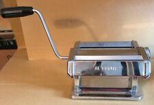 ~Villaware Al Dente Pasta Machine ,Thickness Settings,Hand Crank,Pasta