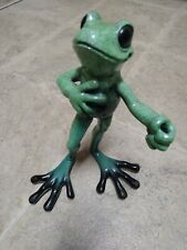 Retired Don Juan #8066Le Kitty's Critters 2002/2003 Orig Box Frog Figure
