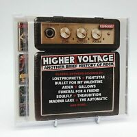 HIGHER VOLTAGE ANOTHER BRIEF HISTORY OF ROCK Rare Kerrang! CD Album Complete VGC