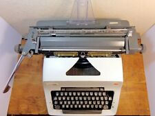 Vintage Olympia Typewriter Model SG-3 Manual 1970s White Made in Mexico