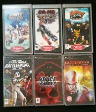 Sonic / Tekken / Ratchet & Clank / Star Wars / God of War ✔ Sony PSP GAMES ✔