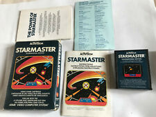 StarMaster / Boxed With Instructions / Atari 2600 / Tested & Working / 7800