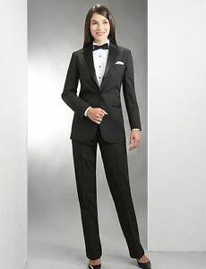 Women's Tuxedo Jacket and Pants. Size 14