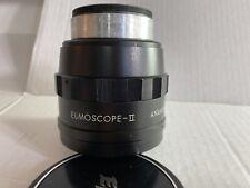 Elmoscope II 2x Anamorphic lens