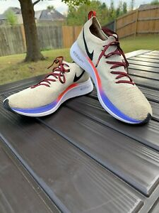 Nike Zoom Fly F K Light Cream Running Shoes Size 10.5
