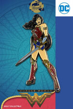 Wonder Woman con espada-exclusivo coleccionista Collectors pin metal-DC Comics