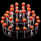 4 Tier Lollipop Wedding Cake 35 Holes Display Stand Holder Base Server Clear