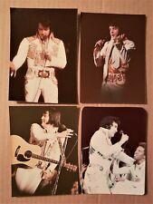 Elvis Presley - 4 Original Concert Photos - 1974 to 1976