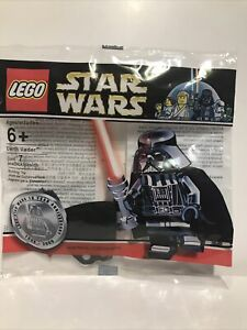 LEGO STAR WARS CHROME DARTH VADER - RARE LIMITED EDITION COLLECTABLE - 4547551