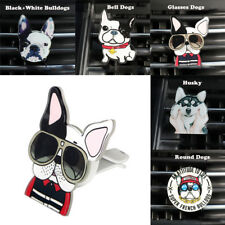 Bulldogge Hunde Form Lufterfrischer Duft Auto Air Vent Parfüm Clip