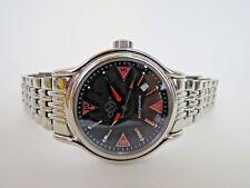 Gevril GV2 Automatic Men's Watch San Bernardino Black Dial 4121 ETA 2824-2