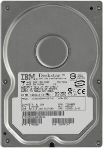 "IBM 07N9550  40GB ATA-100 IDE / PATA 7200 RPM 3.5"" Internal Hard Drive - O7N9550"