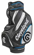 NEW 2018 Cleveland CG Staff Bag Black Blue Sliver Very Sharp Tour Staff Bag