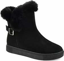 Journee Collection Womens Sibby Winter Boot 9 Black NEW