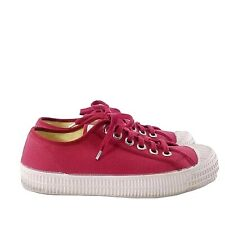 Novesta Size 42 Star Master Trainers Shoes Sneakers Lace Up Mens Womens Red
