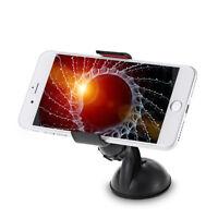 Giratorio Teléfono Móvil GPS Soporte con Ventosa para Parabrisas de Coche Cuna