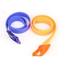 Buckle Ceinture Plastic Buckle Casual Belts Silicone Belt Waistband Belts