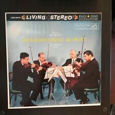 JUILLIARD STRING QUARTET Debussy Ravel LP RCA Living Stereo LSC-2413 1960 SD NM