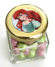ARIEL PARTY FAVOURS CANDY LOLLY JAR - INCLUDES CHOCOLATES - OTHER CHARACTERS TOO