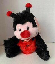 """Valentines Plushland Ladybug Plush 6"""" Tall"""