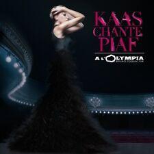 PATRICIA KAAS - KAAS CHANTE PIAF A L'OLYMPIA  CD+DVD NEUF