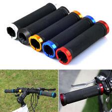 1pair Double Lock On Locking Mountain BMX Bike Bicycle Cycling Handle Bar Grips