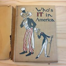 """Who's IT in America"" by Charles Eustace Merriman (1906) VG w/ dust jacket."