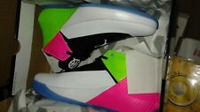 JORDAN WHY NOT ZERO .1 LOW Q54 NEW IN BOX NEVER WARN 9.5 size White/Noir/Blanc