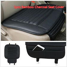 1×PU Leather Bamboo Charcoal Car Seat Cover Protect Pad Breathable Seat Cushion