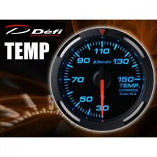 Defi Racer Gauge 52mm TEMP Meter DF06704 (Blue) New from Japan (1000)