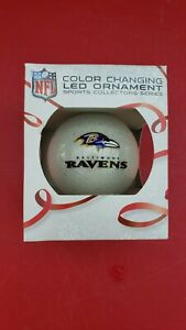 NFL Christmas Tree Hanging LED Light color changing Ornament