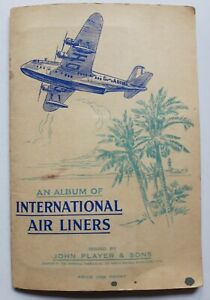 International Air Liners Players cigarette cards complete set of 50 from 1936