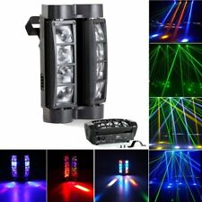 80W LED Moving Head Light DMX-512 RGBW Stage DJ Beam Spider Lighting Party