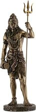 Collectible Large Shiva Statue with Trishula Trident Destroyer of Evil Sculpture