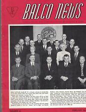 Balco News February 1947 Bausch & Lomb Employees Magazine B&L